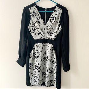 BCBG Long Sleeve Dress